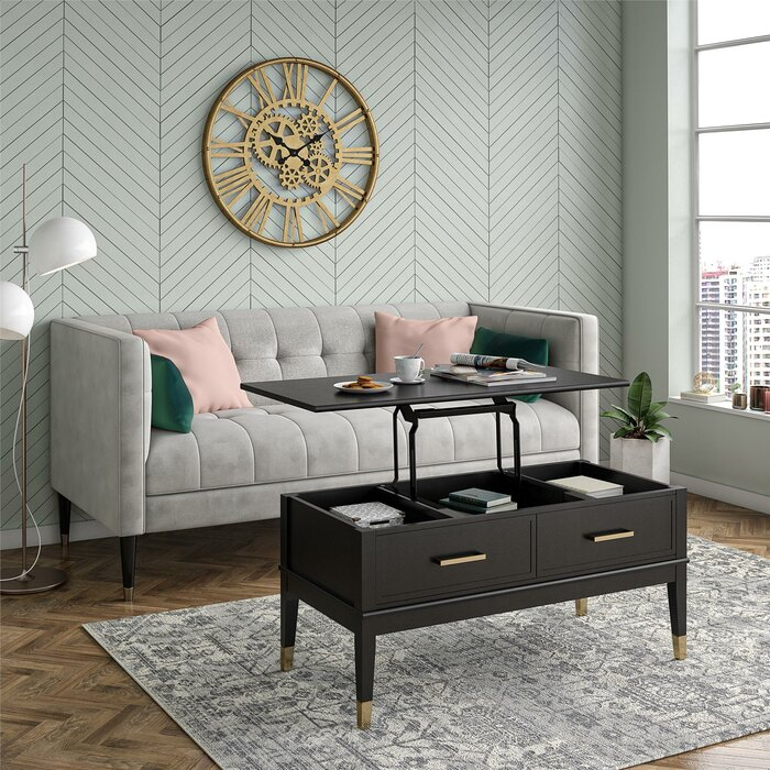 Tremendous Westerleigh Lift Top Coffee Table Dailytribune Chair Design For Home Dailytribuneorg