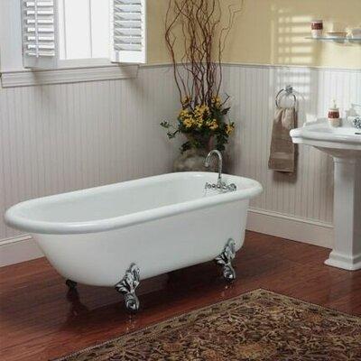 """Restoria Bathtub Company Regent 60"""" x 30"""" Freestanding Soaking Bathtub Colour: White"""