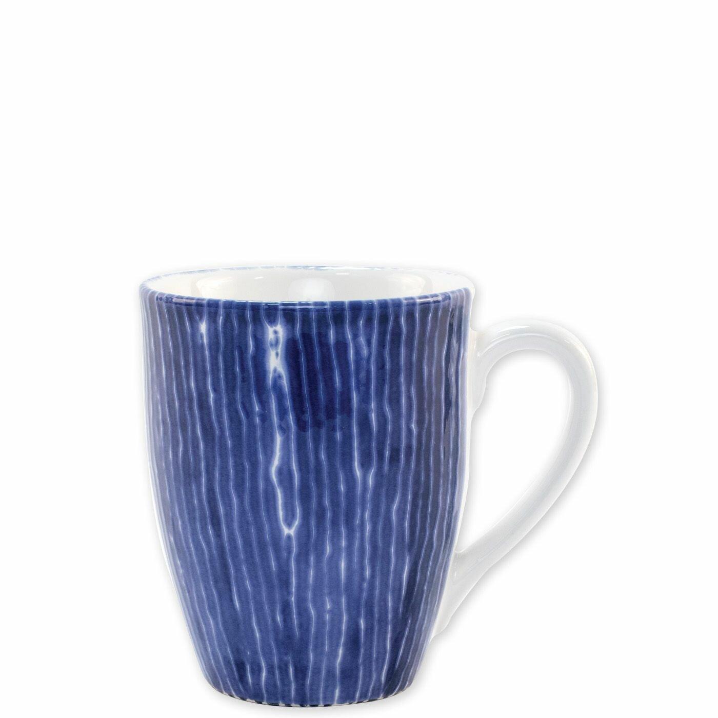 Vietri Viva Santorini Stripe Coffee Mug Wayfair