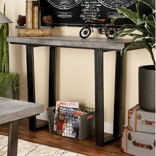 Wood Console Table by Cole & Grey Wonderful