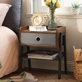 Calgary End Table with Storage by Williston Forge