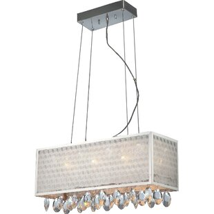 House of Hampton Nevaeh 14-Light Square/Rectangle Chandelier