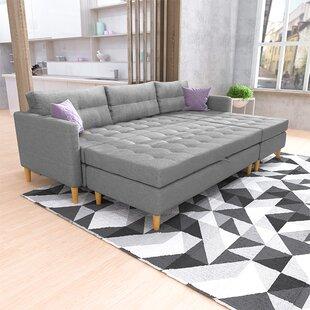 Copenhagen Reversible Modular Corner Sofa Bed By Selsey Living