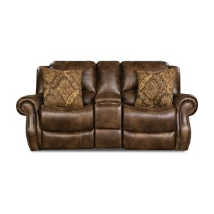 Shop Phares Reclining Loveseat by Loon Peak