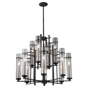 Yucca Valley 12-Light Shaded Chandelier