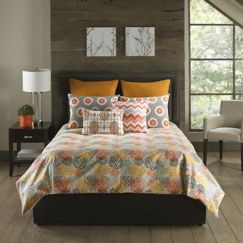 Bloomsbury Market Hahne 5 Piece Comforter Set