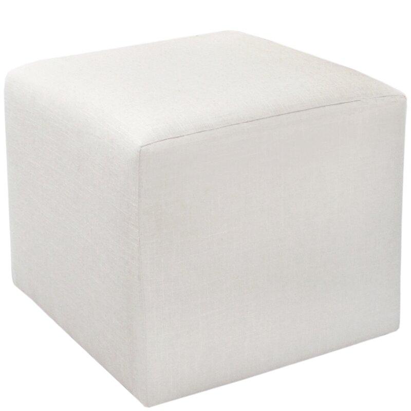 Brayden Studio Cube Ottoman Reviews Wayfair
