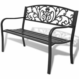 Steel And Iron Bench By Sol 72 Outdoor