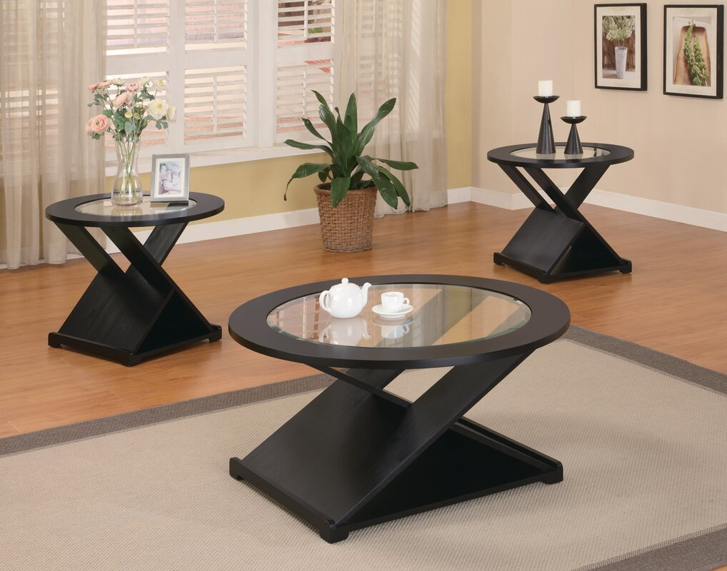 Wildon Home ® Amalga 3 Piece Coffee Table Set & Reviews | Wayfair