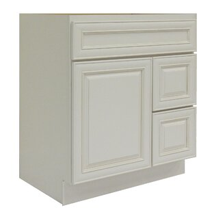 Cabinet 30 Single Bathroom Vanity Base by NGY Stone & Cabinet
