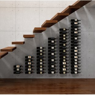 Wall Series Modular Under the Stairs 189 Bottle Wall Mounted WIne Rack