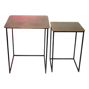 Lusher Nesting Tables (Set of 2) by Gracie Oaks