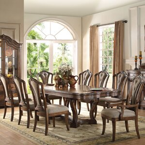 Crispin 9 Piece Dining Set by Darby Home Co