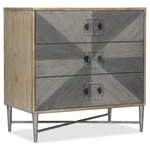 Melange Zulu 3 Drawer Accent Chest