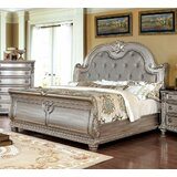 Iraan Tufted Upholstery Low Profile Standard Bed Camren by Astoria Grand