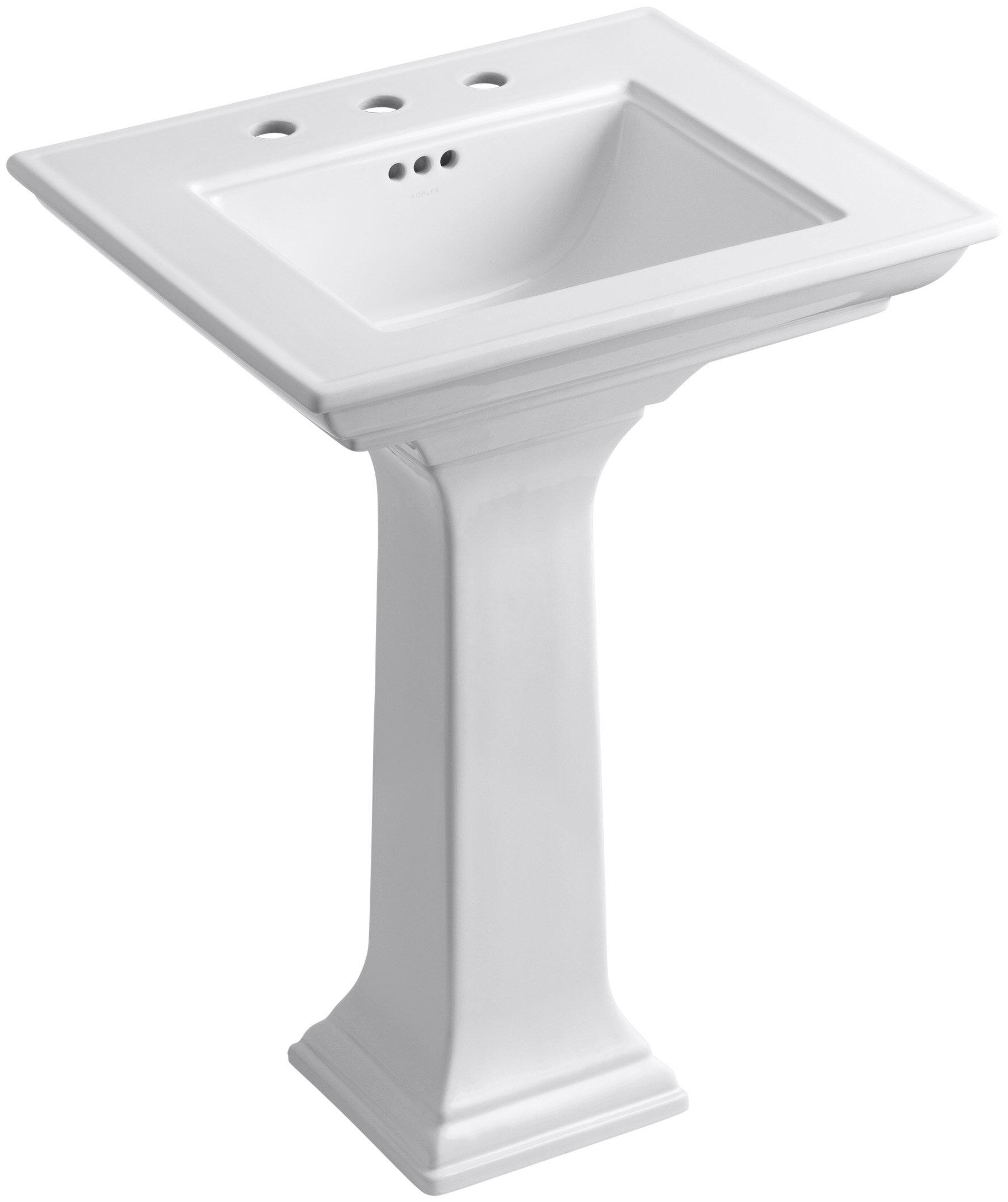 Pedestal Bathroom Sinks You Ll Love In 2020 Wayfair