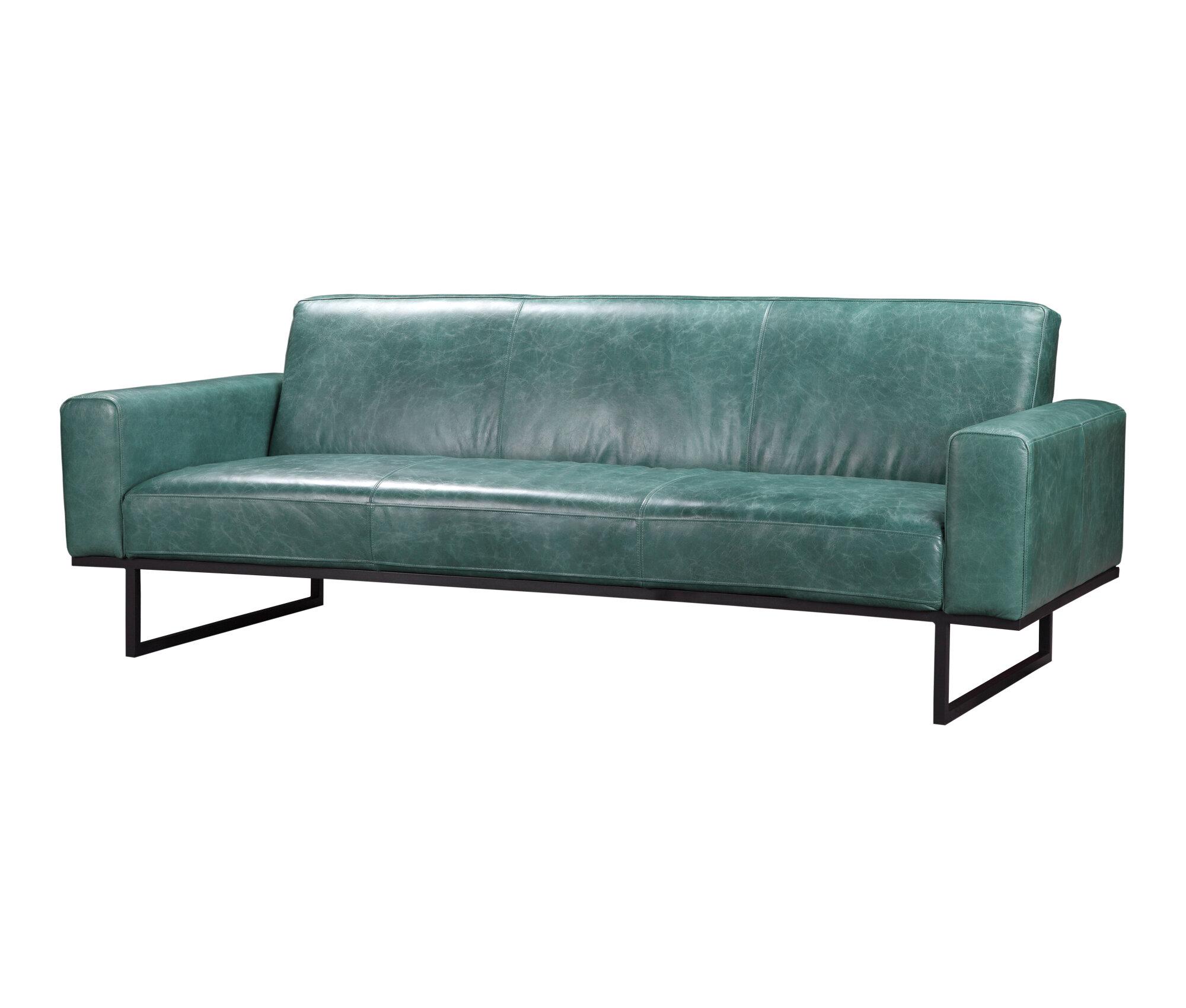 Oak Park Leather Sofa