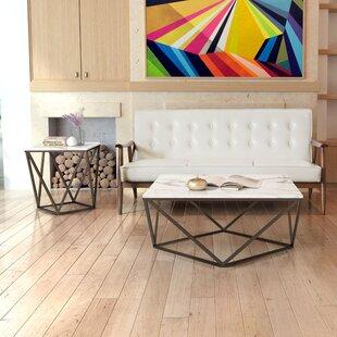 Mercury Row Morison 2 Piece Coffee Table Set