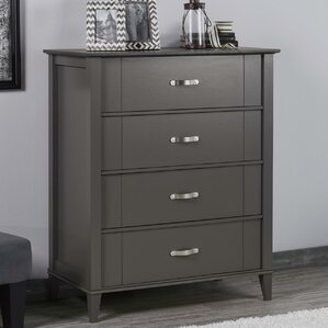 Myles 4 Drawer Dresser by Charlton Home