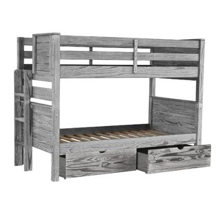 Flitwick Twin Bunk Bed with Drawers