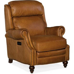 Sighwith Leather Power Recliner By Winston Porter