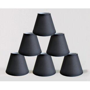 6 Satin Empire Lamp Shade (Set of 6)