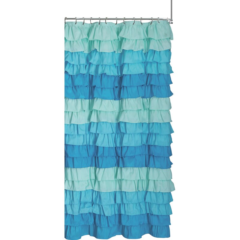 Bletsoe Ruffle Shower Curtain
