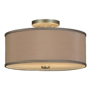 Cilindro 2-Light Semi-Flush Mount by Meyda Tiffany