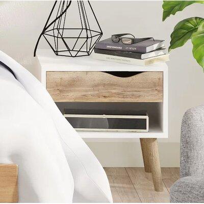 Nachttisch Göte | Schlafzimmer > Nachttische | Eiche - Massiv | Fjørde & Co