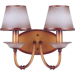 Millwood Pines Clarissa 2-Light Vanity Light