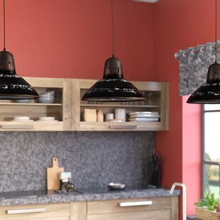 Williston Forge Sharice 1-Light Inverted Pendant