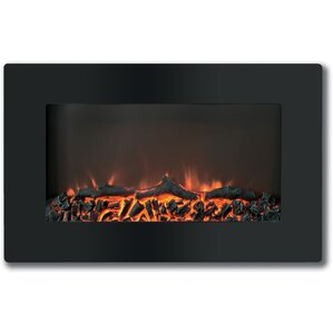 Callisto Wall Mount Electric Fireplace by Cambridge