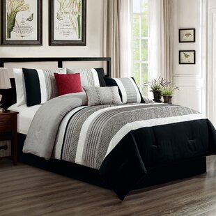 Ullrich Embroidery 7 Piece Comforter Set