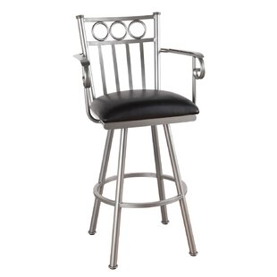 Hunsaker 30 Swivel Bar Stool by Red Barrel Studio Read Reviews