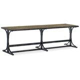 La Grange Metal Bench by Hooker Furniture