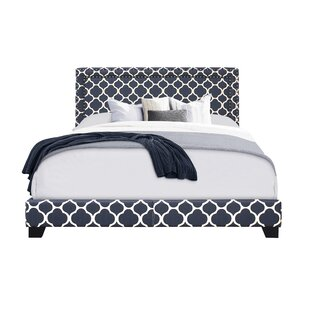 Crichton Upholstered Panel Bed by Wrought Studio