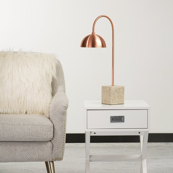 Patrick 21 5 Terrazzo Arched Table Lamp