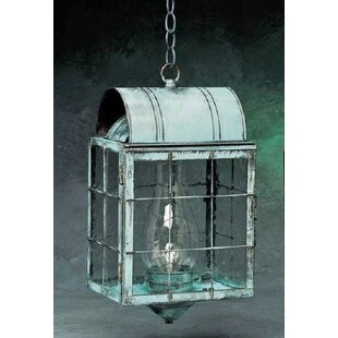 Breakwater Bay Xzavier 1-Light Outdoor Hanging Lantern