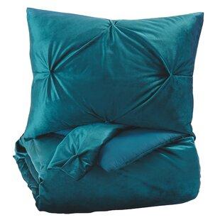 House of Hampton Blade 3 Piece Queen Comforter Set