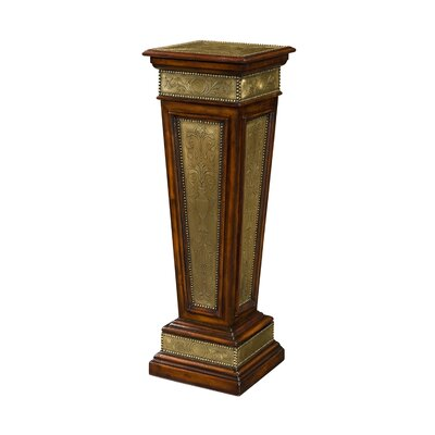 Armoury Column Pedestal Telephone Table by Theodore Alexander