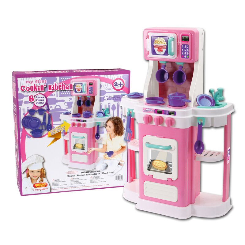 My First Cookin Kitchen Set