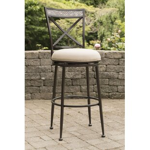 Howland 26 Swivel Indoor/Outdoor Patio Bar Stool
