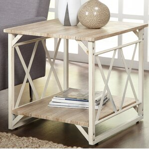 Raymundo End Table by Varick G..