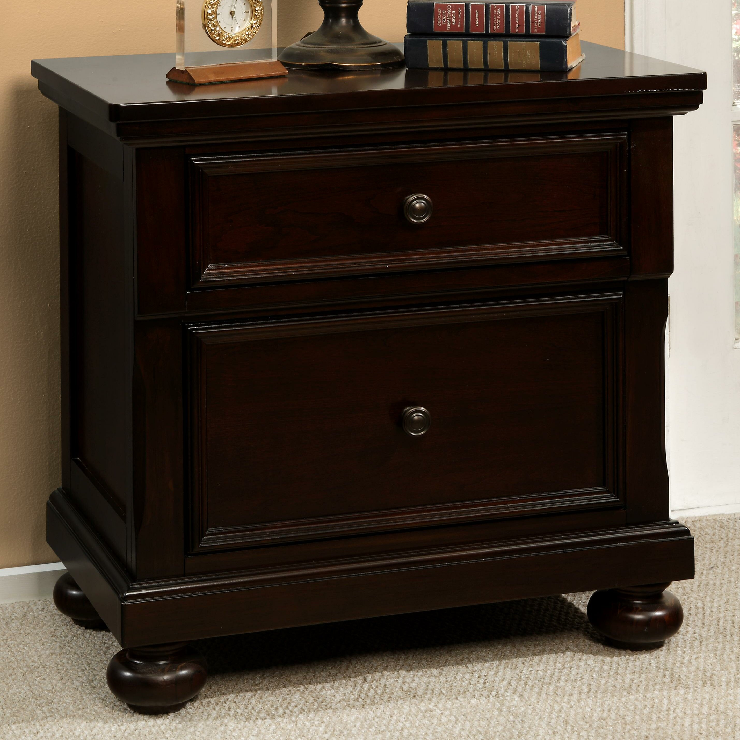 Stewardson 2 Drawer Nightstand