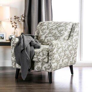 Gracie Oaks Urrutia Wooden Armchair