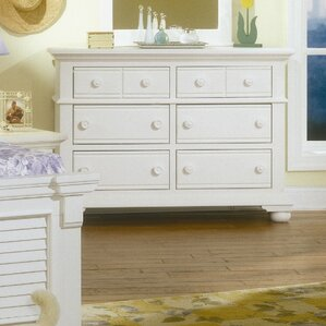 Colgett Double 6 Drawer Dresser by Rosecliff Heights