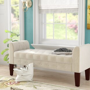 Alcott Hill Kovach Fabric Storage Bench