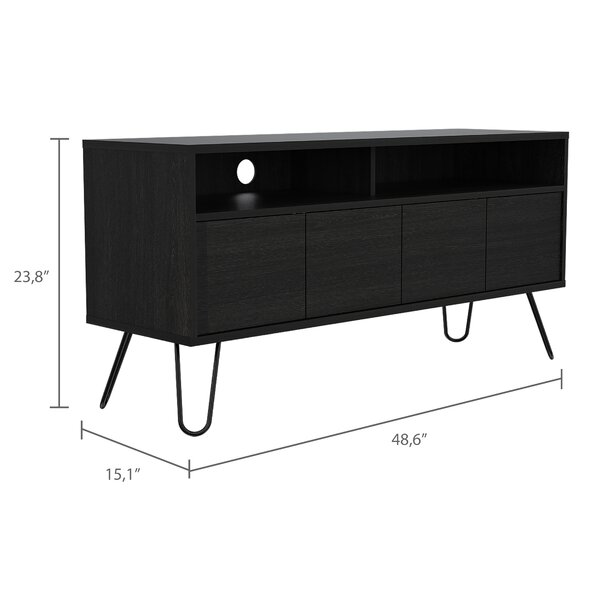 Union Rustic Chavarria Tv Stand For Tvs Up To 55 Wayfair