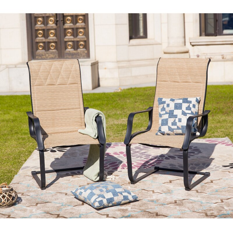 Higginsville Spring Patio Dining Chair
