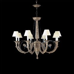 Zanin Lighting Inc. Menorca 8-Light Shaded Chandelier